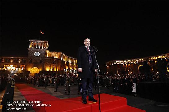 Никол Пашинян о реакции на свой призыв встретить Новый год на площади Республики