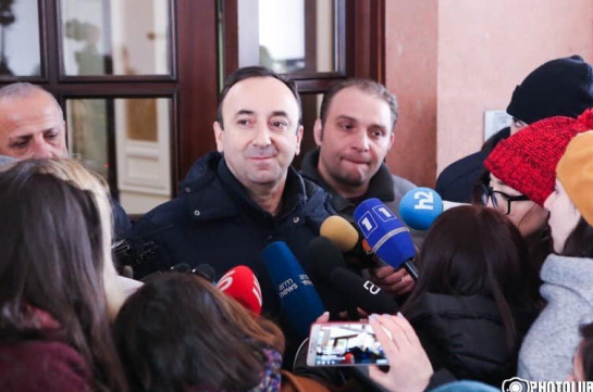 CC chairman Hrayr Tovmasyan gives Armenia's PM 20-day time to ground his statement