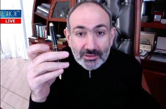 Дьявол кроется в деталях – Никол Пашинян рассказал о ручке, письме Ваге Григоряна и ситуации вокруг Конституционного суда