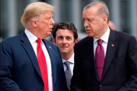 Трамп и Эрдоган обсудили перемирие в Ливии и прекращение насилия в Сирии