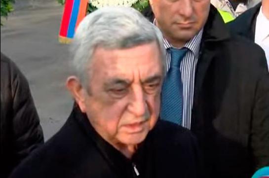 Некоторые люди, в том числе и под диктовку внешних сил, пытались дискредитировать нашу армию, но это не удалось – Серж Саргсян