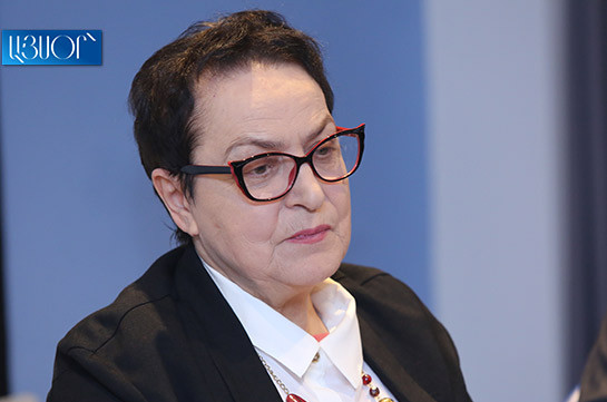 Лариса Алавердян присоединяется к требованию правозащитника Рубена Меликяна о встрече с и.о. начальника полиции
