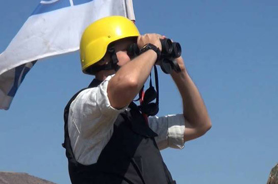 Azerbaijani side did not lead the OSCE mission to its front-line positions during monitoring of Line of Contact