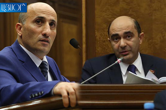 Why conduct referendum and not solve the issue by 88 deputies: Edmon Marukyan