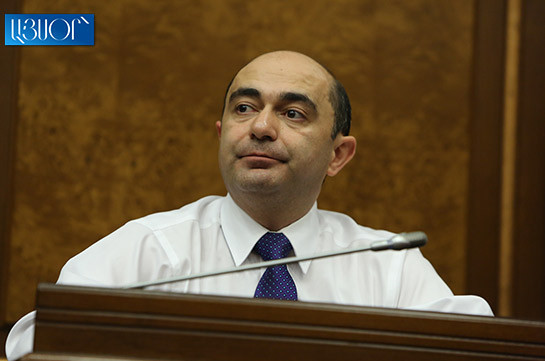 Bright Armenia hopes president will not sign bill on conduction of constitutional referendum and will apply to CC: Edmon Marukyan