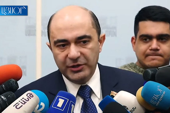 Armenian PM's proposal to meet with CC judges to discuss their tenure is anti-constitutional: Edmon Marukyan