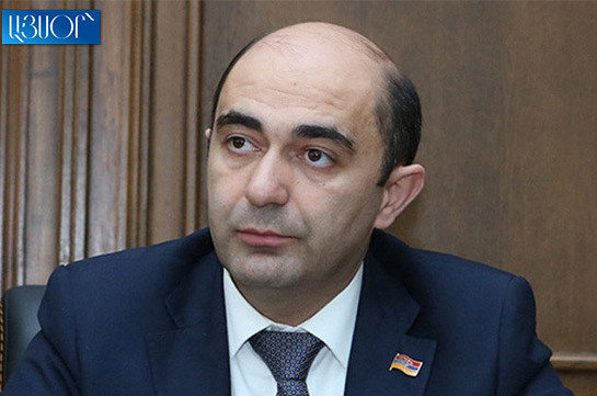 Bright Armenia ready to apply to CC if necessary number of signatures is gathered: Edmon Marukyan