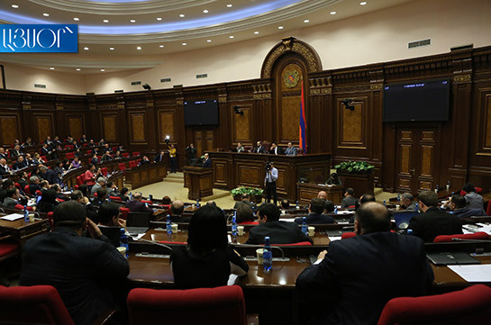 NA approves Bright Armenia faction's bill on term of appointment of acting head of community non-trade organization