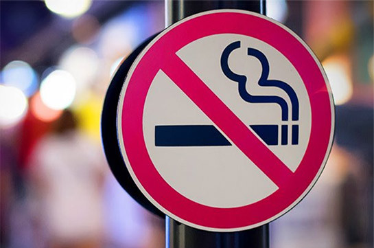 Smoking in closed public areas hence banned by law