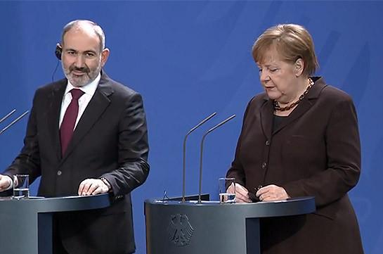 Armenian-German relations on highest level ever: Armenia's PM