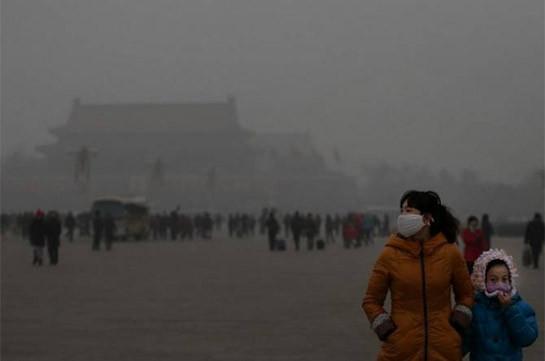 Смог в Пекине достиг опасного уровня