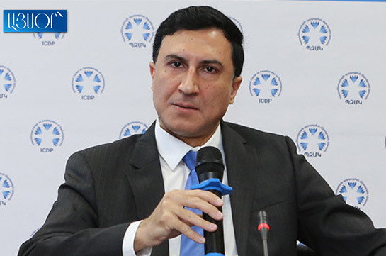 Armenia stopped being a legal state: CC chairman's consultant