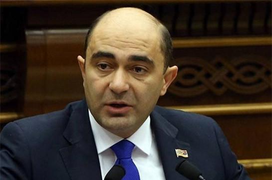 Эдмон Марукян: Знайте, тот, кто скажет, что «революцию отбирают» – лжет