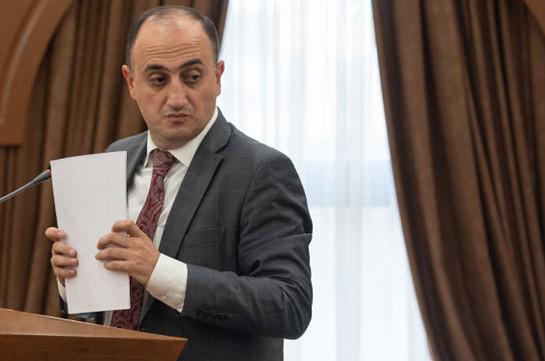 Փոխքաղաքապետ Հայկ Սարգսյանը որևէ քրեական գործում որևէ կարգավիճակով ընդգրկված չէ. Հակոբ Կարապետյան
