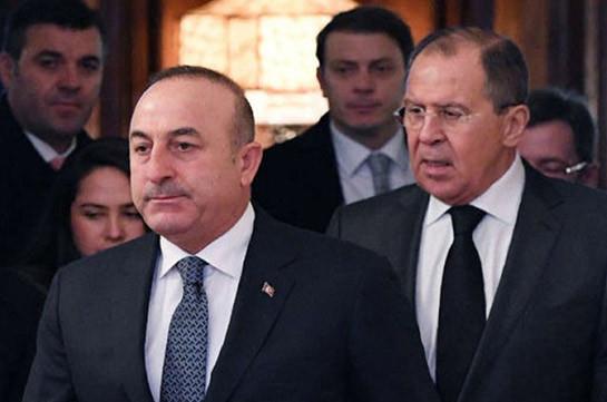 Чавушоглу рассказал о переговорах Турции и России по Идлибу