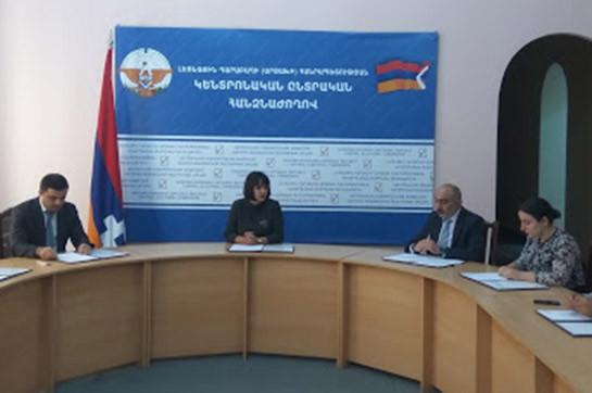 Заявки на участие в общереспубликанских выборах в Арцахе представили 14 кандидатов в президенты, 2 политических блока и 10 партий