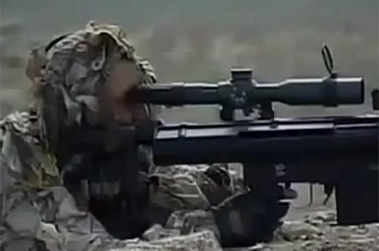 Погибший 15 февраля военнослужащий ВС Азербайджана – снайпер, был выведен на передовую для выполнения боевой задачи