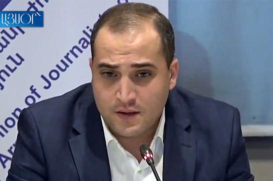 Мы имеем дело с поощряемым властями видом журналистики, которая распространяет полную клевету и риторику ненависти – Нарек Самсонян