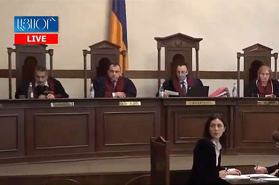 Armenia's CC convenes open session, Vahe Grigoryan absent again
