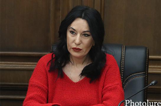 Сегодняшняя встреча с начальником Генштаба ВС Армении была довольно эффективной и информативной – Наира Зограбян