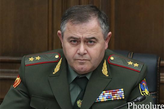 В армии произойдут кадровые изменения – Артак Давтян