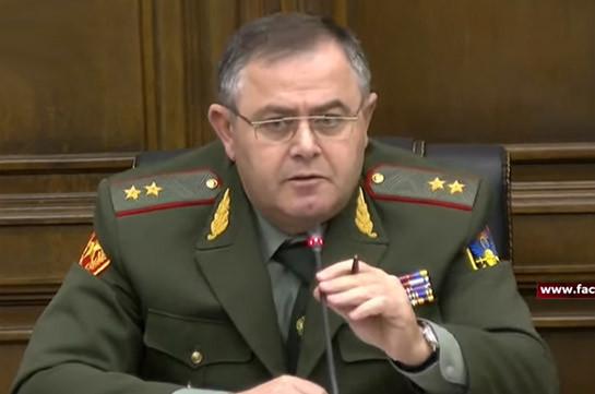 У нас с министром обороны нет разногласий – Артак Давтян