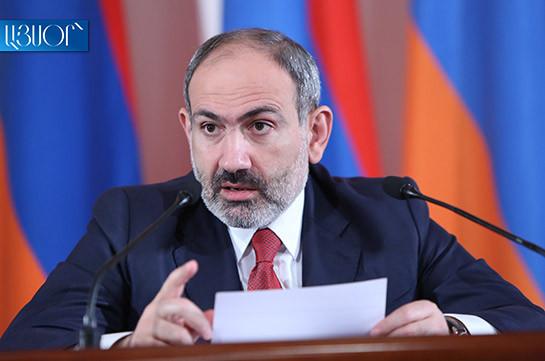 Armenia's productive capital restores and develops: Armenia's PM