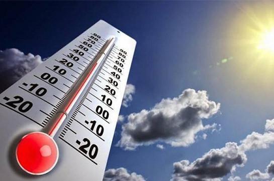 В Армении температура воздуха постепенно повысится на 3-5 градусов