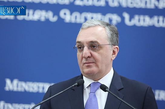 Spread of coronavirus challenge for all countries: Armenia's FM