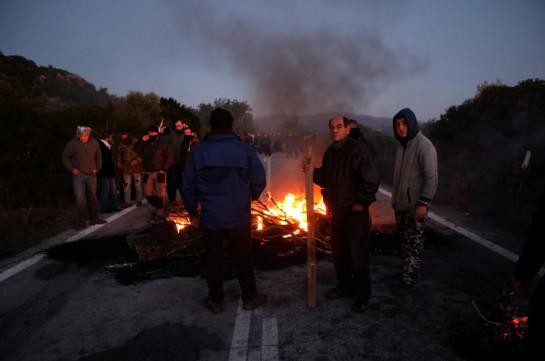 Հունաստանում անկարգություններ են տեղի ունեցել` միգրանտների նոր ճամբարների պատճառով