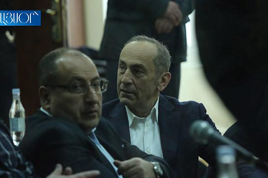 Ռոբերտ Քոչարյանի և մյուսների գործով հերթական դատական նիստը