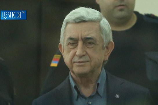 Սերժ Սարգսյանի և մյուսների գործով մեղադրող դատախազը ինքնաբացարկ չհայտնեց