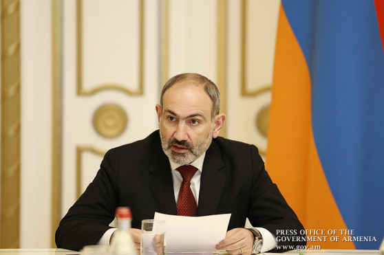 Five of new coronavirus cases are from Etchmiadzin, other two from Charentsavan: Pashinyan