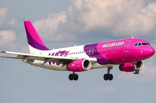 Авиакомпания Wizz Air сегодня выполнит первый рейс из Вены в Ереван