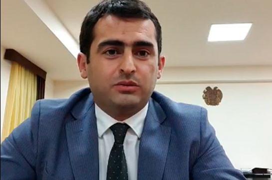 Акоп Аршакян представил объяснение относительно выявленных в ведомстве злоупотреблений на 10 млн. драмов