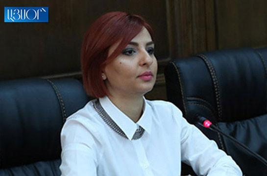 Из-за режима чрезвычайного положения закрылись рабочие места, люди оказались в тяжелой социальной ситуации – Ани Самсонян