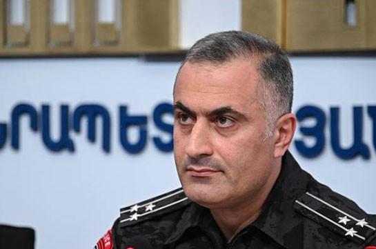 После 16:00 полиция перейдет к установленным законом действиям – заместитель начальника полиции Армении
