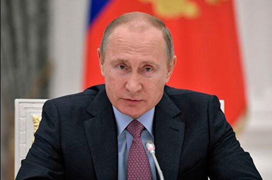 Կորոնավիրուսի հետ կապված իրավիճակի պատճառով Պուտինը պատրաստվում է դիմել ազգին (РИА Новости)