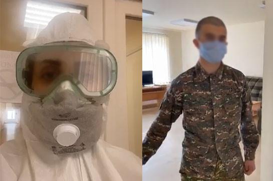 Պաշտպանության նախարարի մամուլի քարտուղարը ներկայացրել է կարանտինի մեջ պահվող զինծառայողների մեկուսացման պայմանները (Տեսանյութ)
