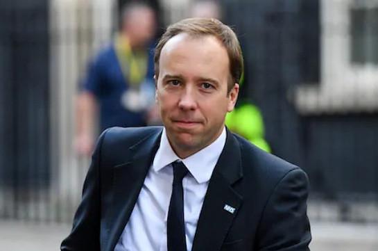 Մեծ Բրիտանիայի առողջապահության նախարարը վարչապետ Ջոնսոնից հետո վարակվել է կորոնավիրուսով (Интерфакс)