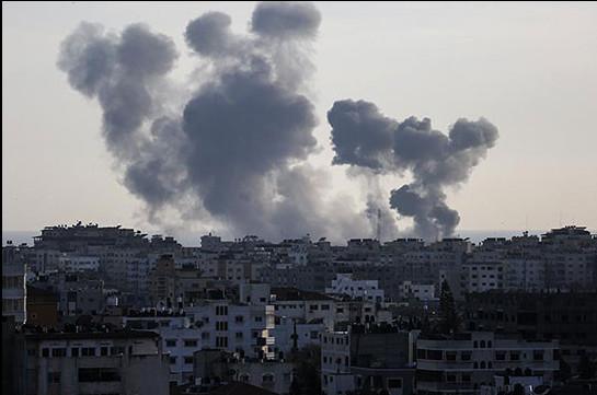 Իսրայելական բանակը հարվածել է  ՀԱՄԱՍ-ի օբյեկտներին ի պատասխան հրետակոծության