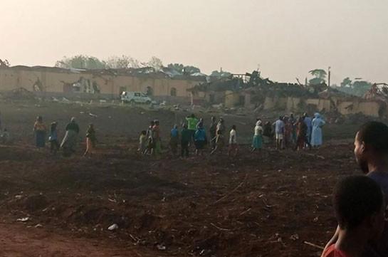 На юге Нигерии прогремел сильный взрыв