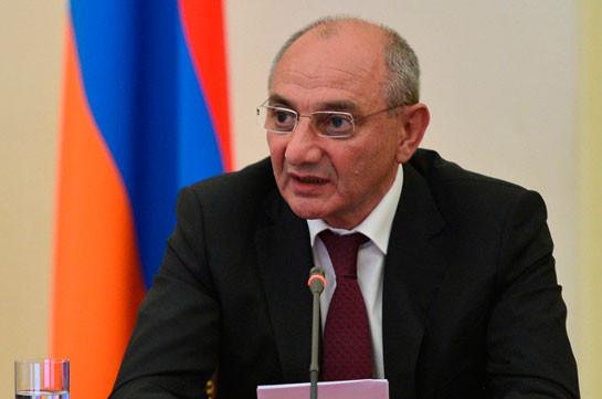 Artsakh President sends condolences on death of French politician Patrick Devedjian
