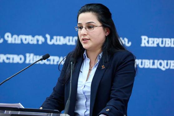 Посольство Армении уточняет данные находящихся в московском аэропорту «Домодедово» граждан Армении для правильной оценки обстановки – Анна Нагдалян