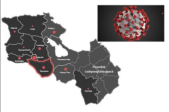 В Араратской области зарегистрировано 158 случаев коронавируса – губернатор представил статистику
