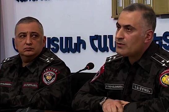 ՀՀ ոստիկանության հոսպիտալում բուժվում են 83 վարակակիրներ. Փոխոստիկանապետ (Տեսանյութ)