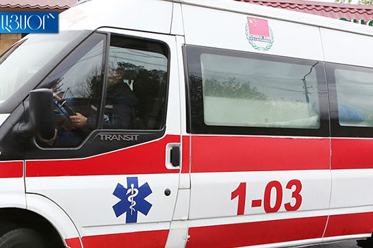 Patient, 47, dies in ambulance car not being admitted in Surb Grigor Lusavorich medical center