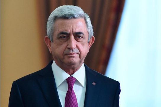 Серж Саргсян 16 апреля примет участие в заседании комиссии по изучению обстоятельств Апрельской войны