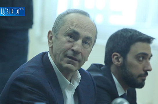 Robert Kocharyan will attend tomorrow's trial