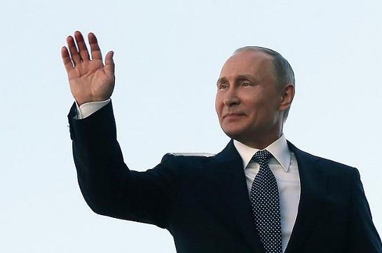 Պուտինը շնորհավորել է նախկին ԽՍՀՄ երկրների առաջնորդներին մայիսի 9-ի առթիվ